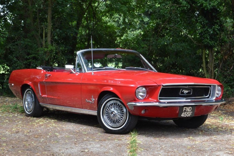 Ford Mustang Convertible 289 V8 auto